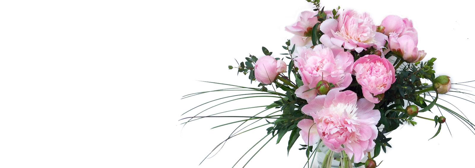 Offrez un magnifique bouquet de pivoines pour la fête des mères