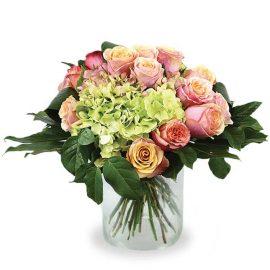grand bouquet rond serré