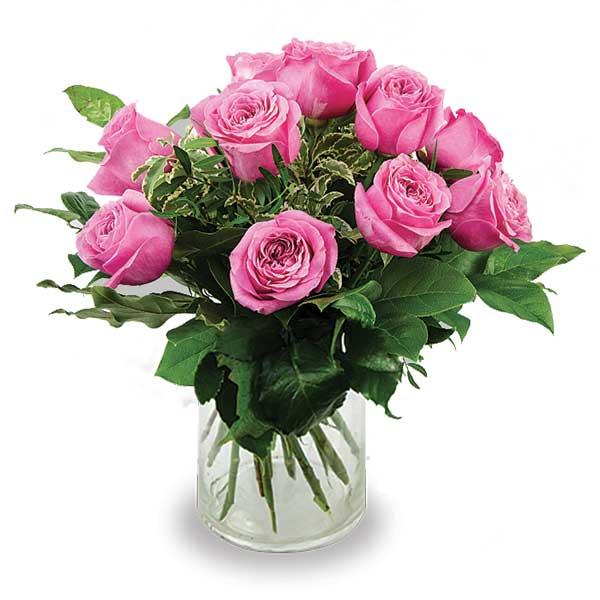 bouquet de roses à tiges courtes strasbourg
