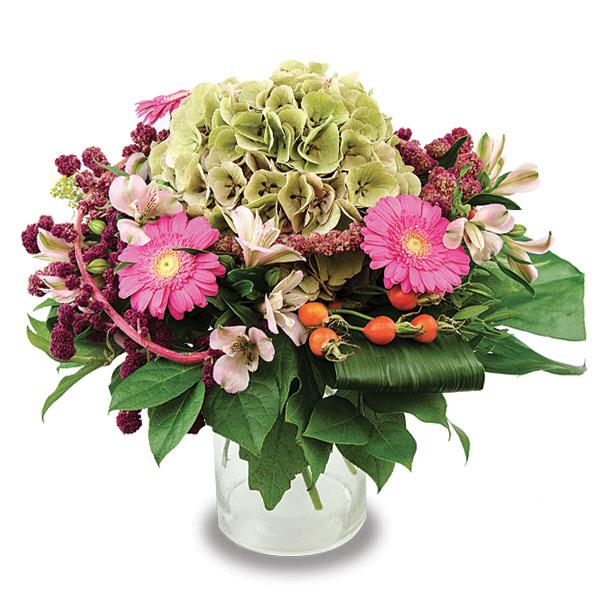 bouquet rond serr fleurs kammerer. Black Bedroom Furniture Sets. Home Design Ideas