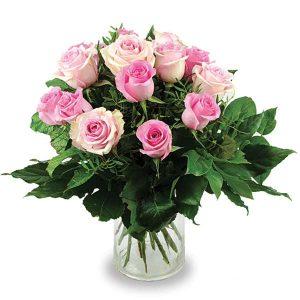 bouquet de roses à tiges moyennes strasbourg