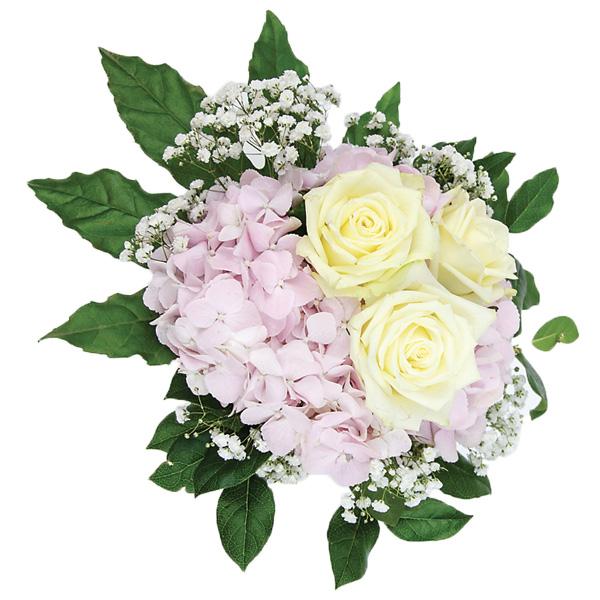 bouquet rond romantique fleurs kammerer. Black Bedroom Furniture Sets. Home Design Ideas
