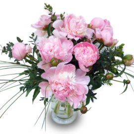 Bouquet de pivoines / Fleurs Kammerer