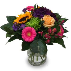 Bouquet rond estival