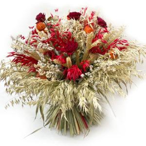 Bouquet de fleurs séchés chez Fleurs Kammerer