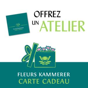 Atelier floral à Strasbourg